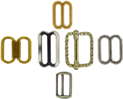 Cap and Hat Buckles from Rome Fastener