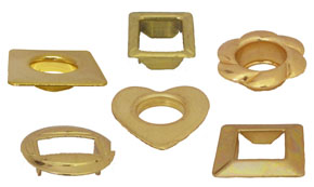 Examples of Decorative Grommets