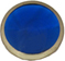 pearl blue decorative snap fastener cap