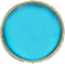 turquoise decorative snap fastener cap